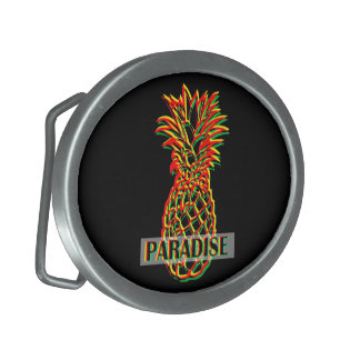 Pineapple Paradise Belt Buckles