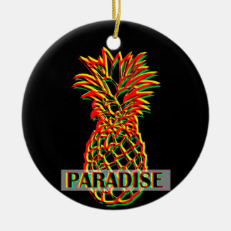 Pineapple Paradise Christmas Ornament