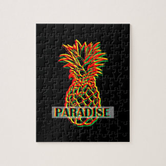 Pineapple Paradise Jigsaw Puzzle