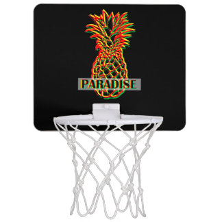 Pineapple Paradise Mini Basketball Hoop