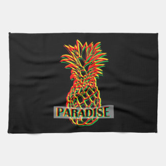 Pineapple Paradise Tea Towel