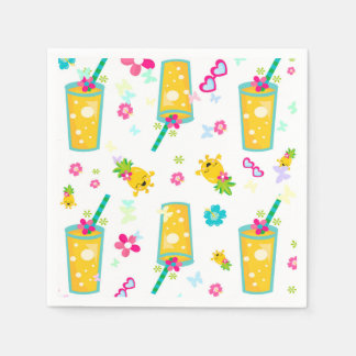 Pineapple party disposable napkin