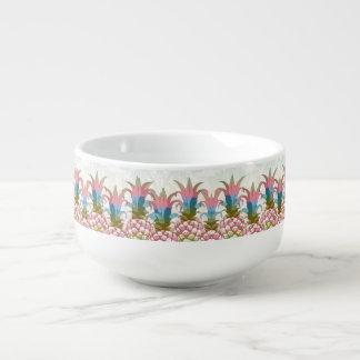 Pineapple Pastel Gradient ID246 Soup Mug