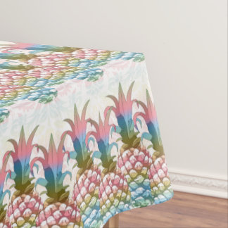 Pineapple Pastel Gradient ID246 Tablecloth