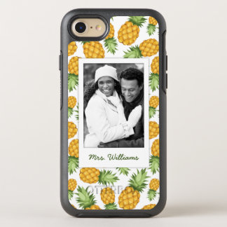 Pineapple Pattern | Add Your Photo OtterBox Symmetry iPhone 8/7 Case