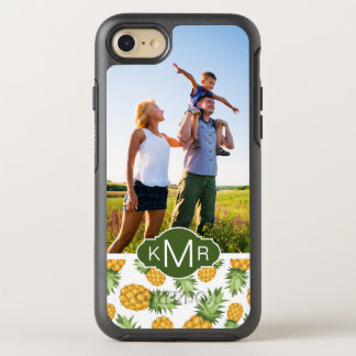Pineapple Pattern   Add Your Photo OtterBox Symmetry iPhone 8/7 Case
