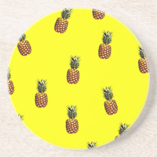pineapple pattern coaster