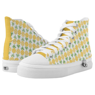 Pineapple Pattern High Tops