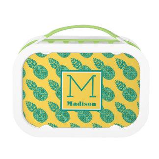Pineapple Pattern | Monogram Lunch Box