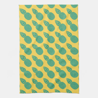 Pineapple Pattern Tea Towel