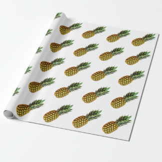 Pineapple pattern wrapping paper