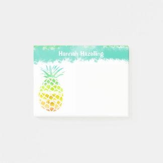 Pineapple Personalized Note Pad