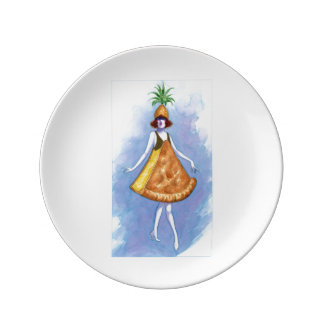 Pineapple Pie Plate