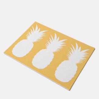 Pineapple Pineapple Pineapple Doormat