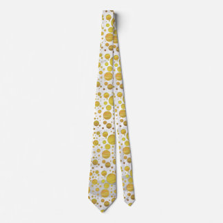 Pineapple Polka Dot Pattern Tie