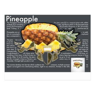 Pineapple Postcard Cartões Postais