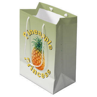 Pineapple Princess Medium Gift Bag