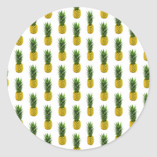Pineapple Print Sticker