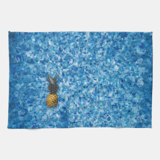 Pineapple print towel