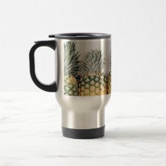 Pineapple print travel mug