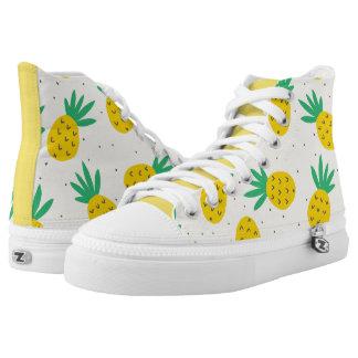 Pineapple shoe! printed shoes