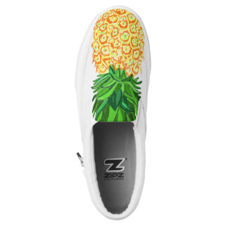 Pineapple shoes printed shoes