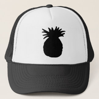 Pineapple Silhouette Trucker Hat