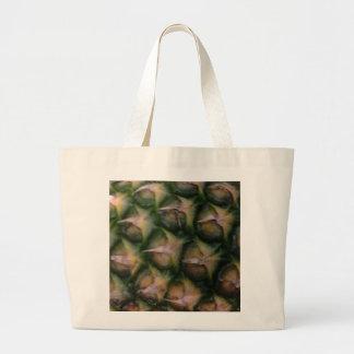 Pineapple skin canvas bags