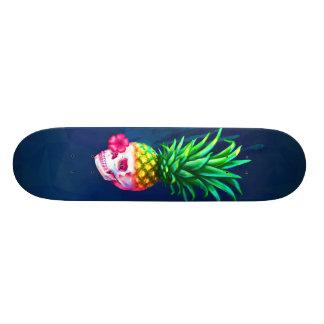 Pineapple Skull Board 21.6 Cm Skateboard Deck