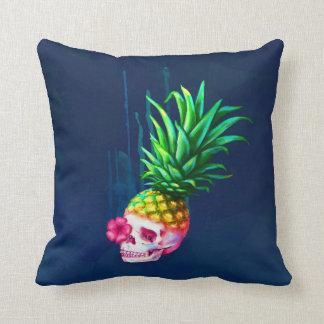 Pineapple Skull Pillow