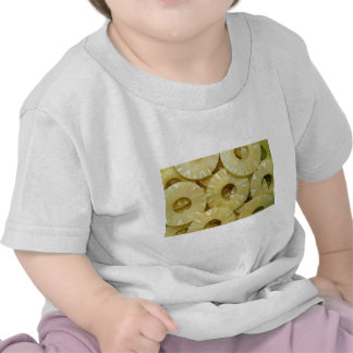 Pineapple slices tee shirts