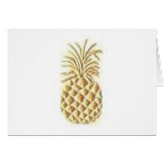 Pineapple Stamp Card