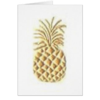 Pineapple Stamp Card