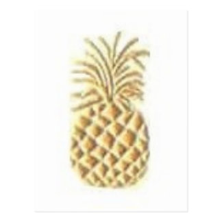Pineapple Stamp Postcard