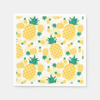 Pineapple Standard Cocktail Paper Napkins Disposable Napkin