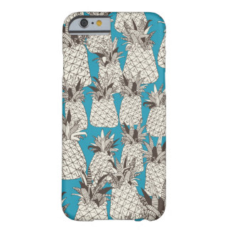pineapple summer blue barely there iPhone 6 case