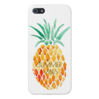 PINEAPPLE - SUMMER VIBES iPhone 5 COVER