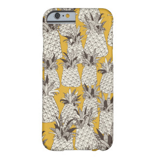 pineapple sunshine yellow barely there iPhone 6 case