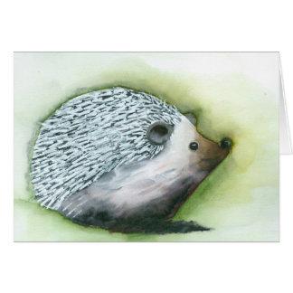 Pineapple the Happy Hedgehog Card
