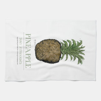 pineapple, tony fernandes tea towel