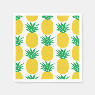 Pineapple Tropical Disposable Napkin
