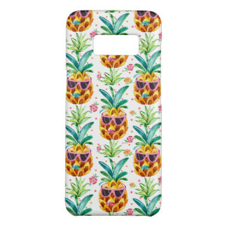 PineApple & Tropical Flowers Pattern Case-Mate Samsung Galaxy S8 Case