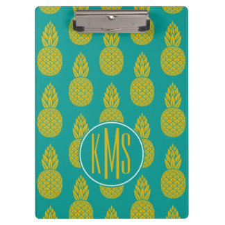 Pineapple Tropical Fruit | Monogram Clipboards