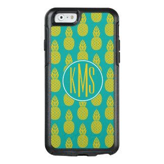 Pineapple Tropical Fruit | Monogram OtterBox iPhone 6/6s Case