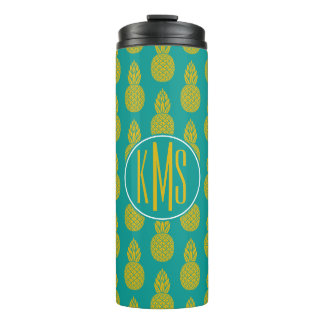 Pineapple Tropical Fruit | Monogram Thermal Tumbler