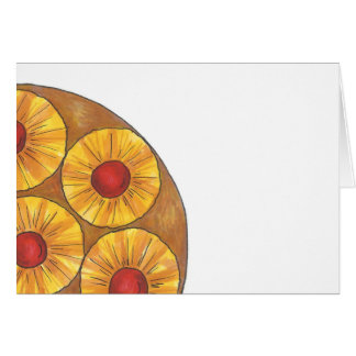 Pineapple Upside Down Cake Cards