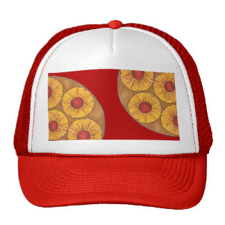 Pineapple Upside Down Cake Cherry Foodie Hat