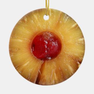 Pineapple Upside Down Cake Pineapple Christmas Ornament