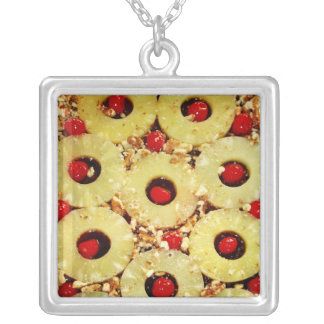 Pineapple Upside Down Cake Pineapple Necklace