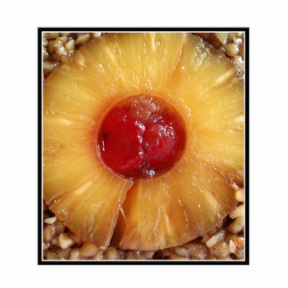 Pineapple Upside Down Cake Pineapple Photo Sculpture